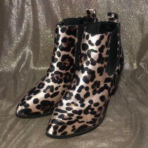 Cheetah Print Madden Girl Booties